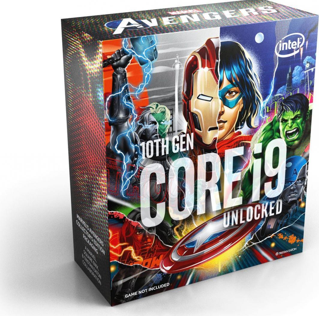 Procesor Intel Core i9-10850K, 3.6GHz, 20 MB, BOX, Avengers Edition (BX8070110850KA) 1