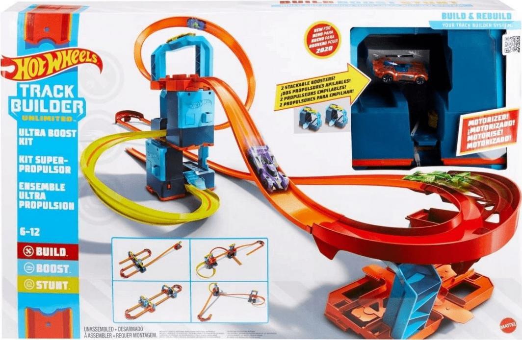 Mattel Hot Wheels Track Builder Ultra Przyspieszenie zestaw (GLC97) 1