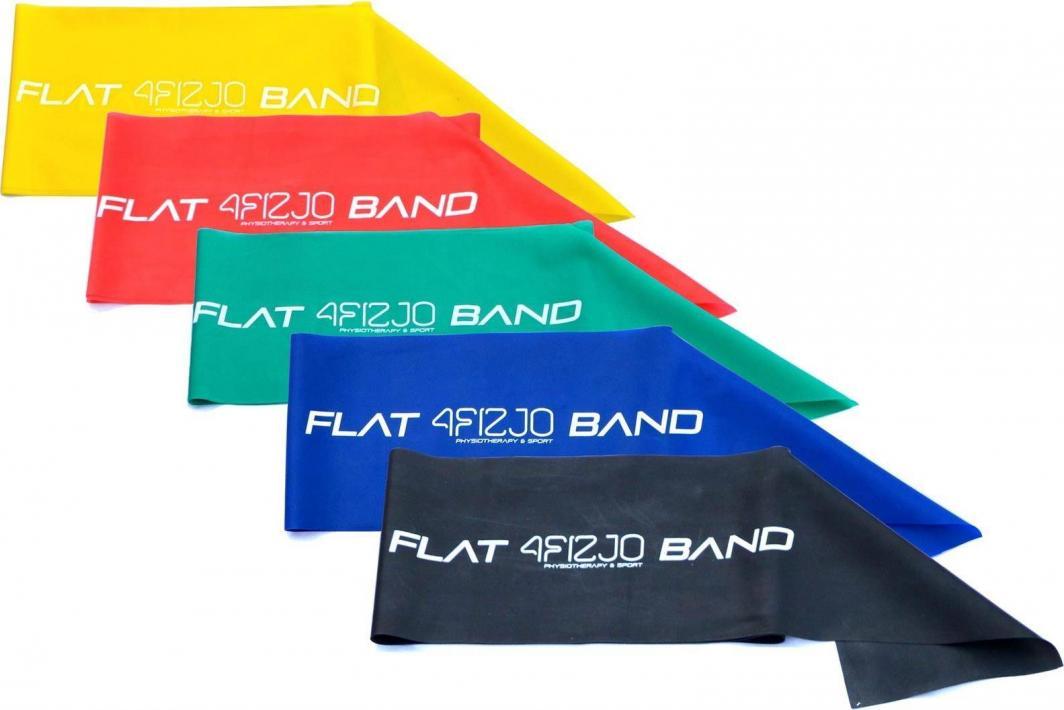 4fizjo Taśma do ćwiczeń Flex Flat 2M 5 szt. 1