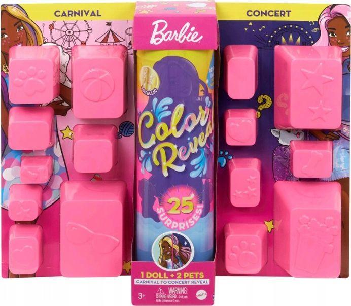 Barbie Barbie Kolorowa maksiniespodzianka (GPD54) 1