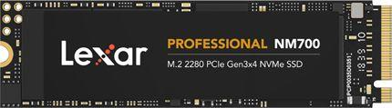 Dysk SSD Lexar NM700 512 GB M.2 2280 PCI-E x4 Gen3 NVMe (LNM700-512RB) 1