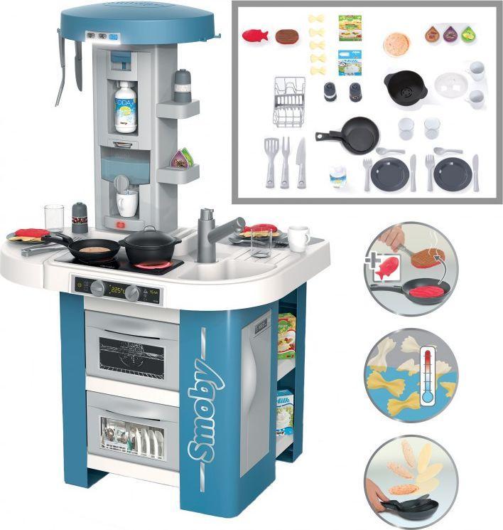 Smoby Elektroniczna Kuchnia Tech Edition 35 el. (311049) 1