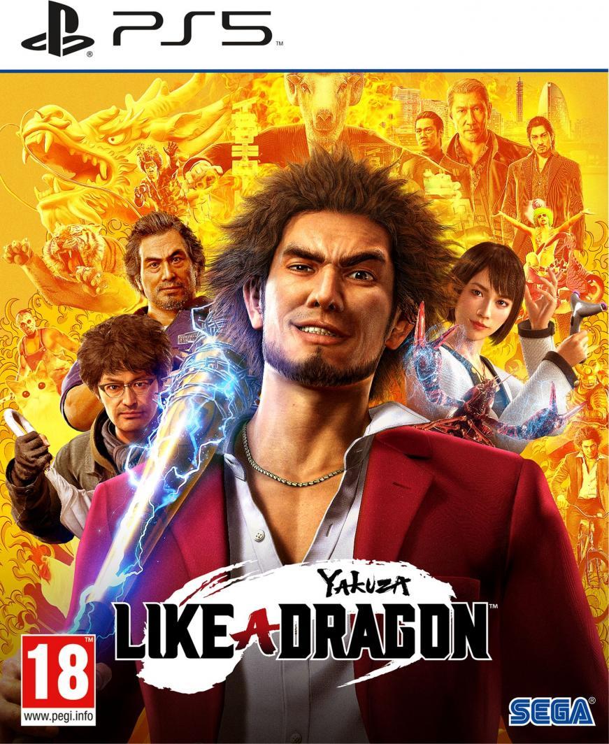 Yakuza: Like a Dragon PS5 1