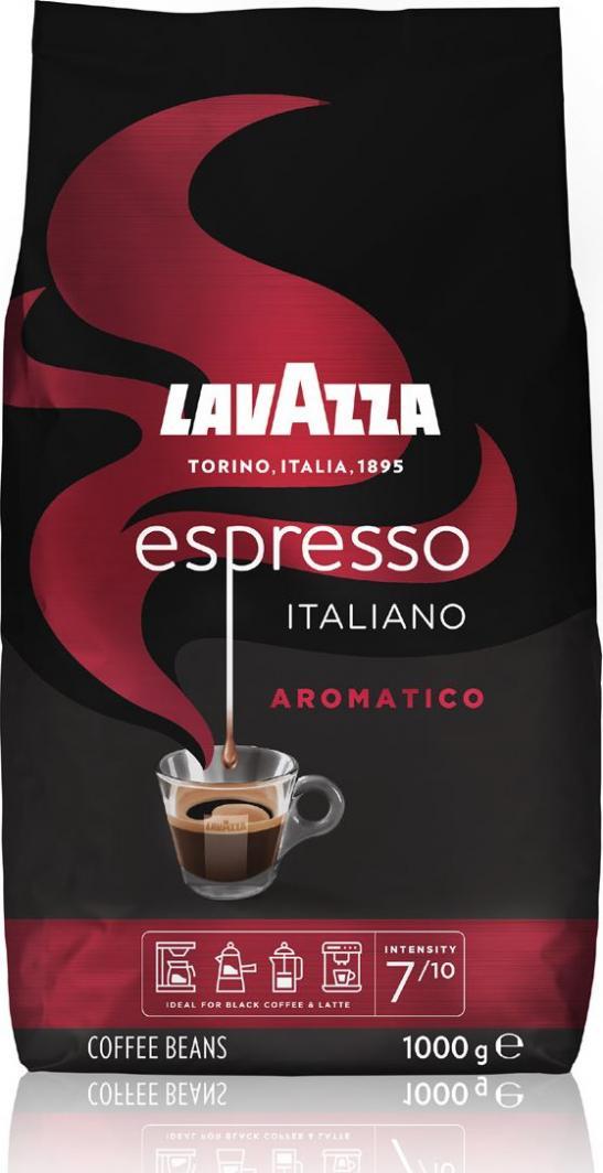 Kawa ziarnista Lavazza Espresso Italiano Aromatico 1kg 1