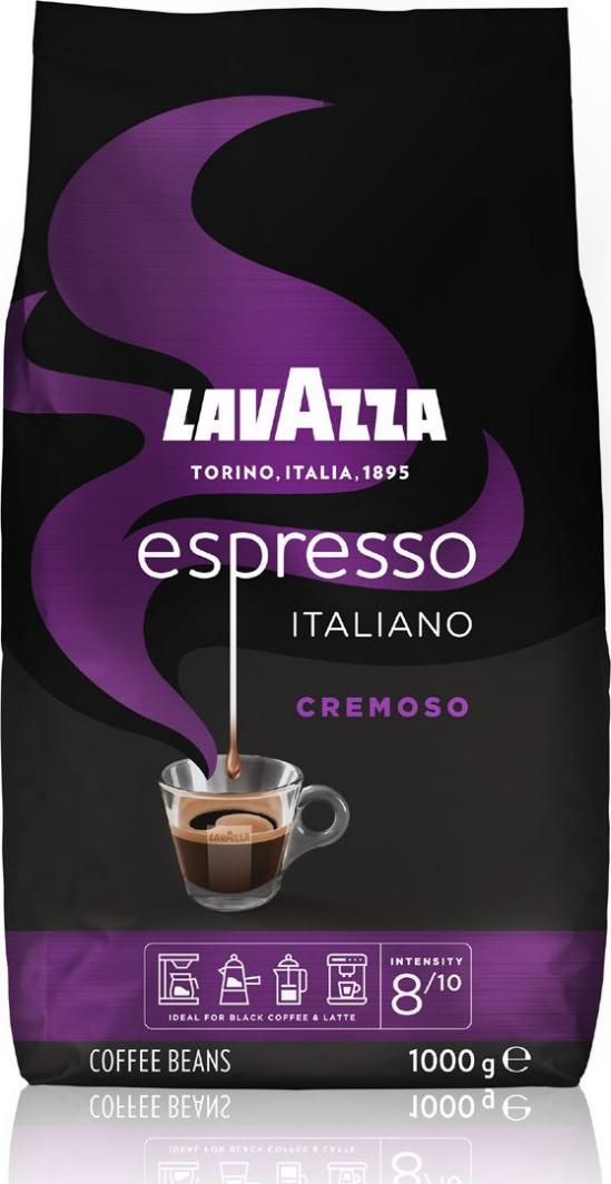 Kawa ziarnista Lavazza Espresso Italiano Cremoso 1kg 1