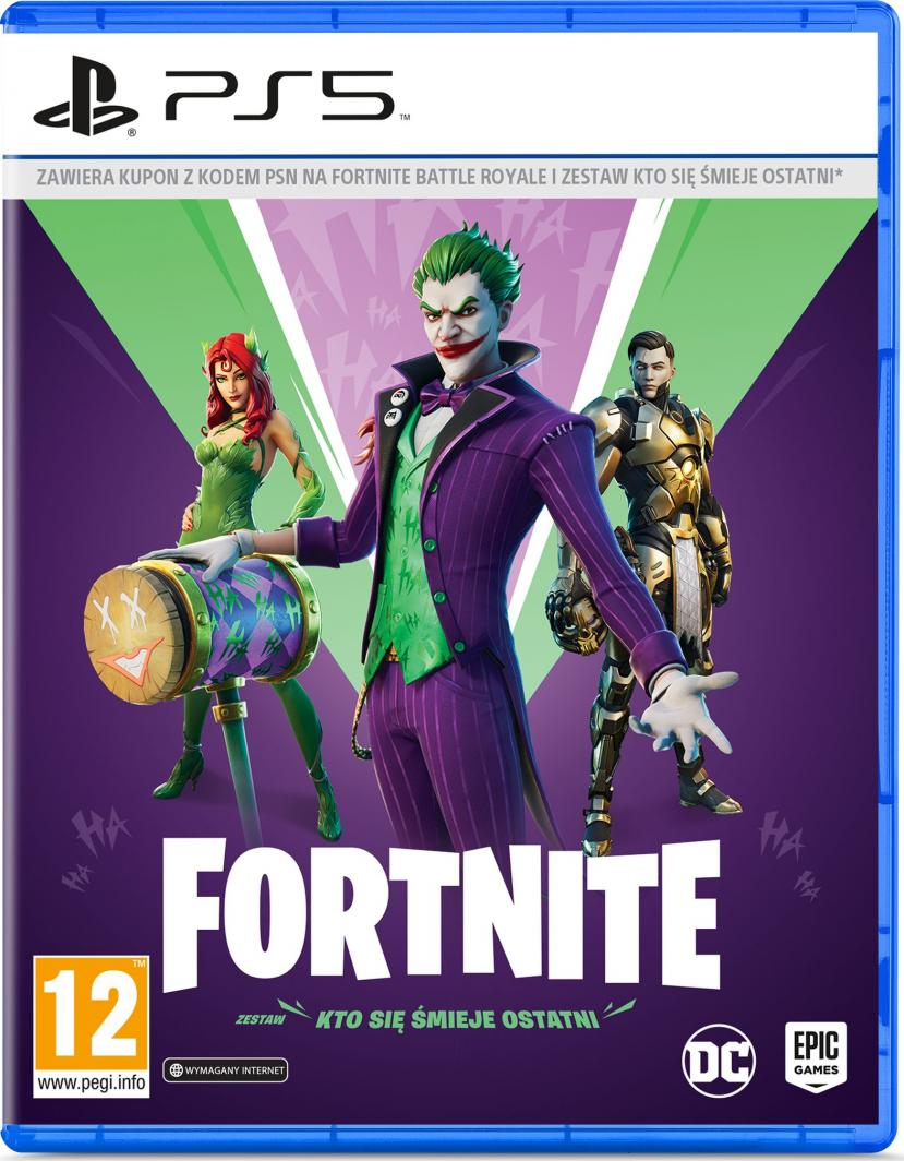 Fortnite: The Last Laugh Bundle PS5 1