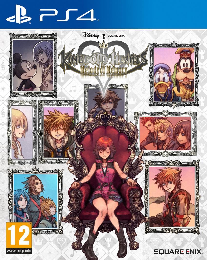 Kingdom Hearts: Melody of Memory PS4 1
