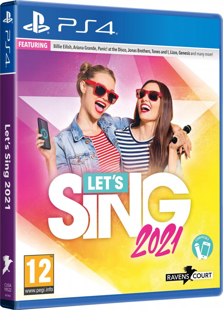 Let's Sing 2021 PS4 1