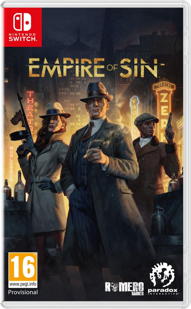 Empire of Sin Day One Edition Nintendo Switch 1
