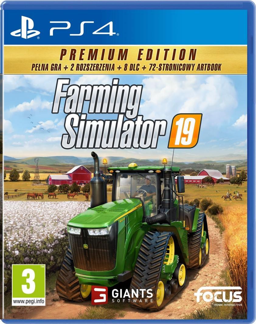 Farming Simulator 19 Edycja Premium PS4 1