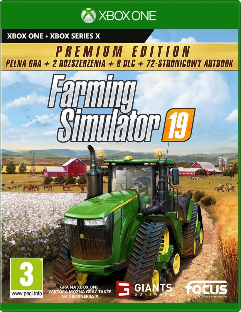 Farming Simulator 19 Edycja Premium Xbox One 1