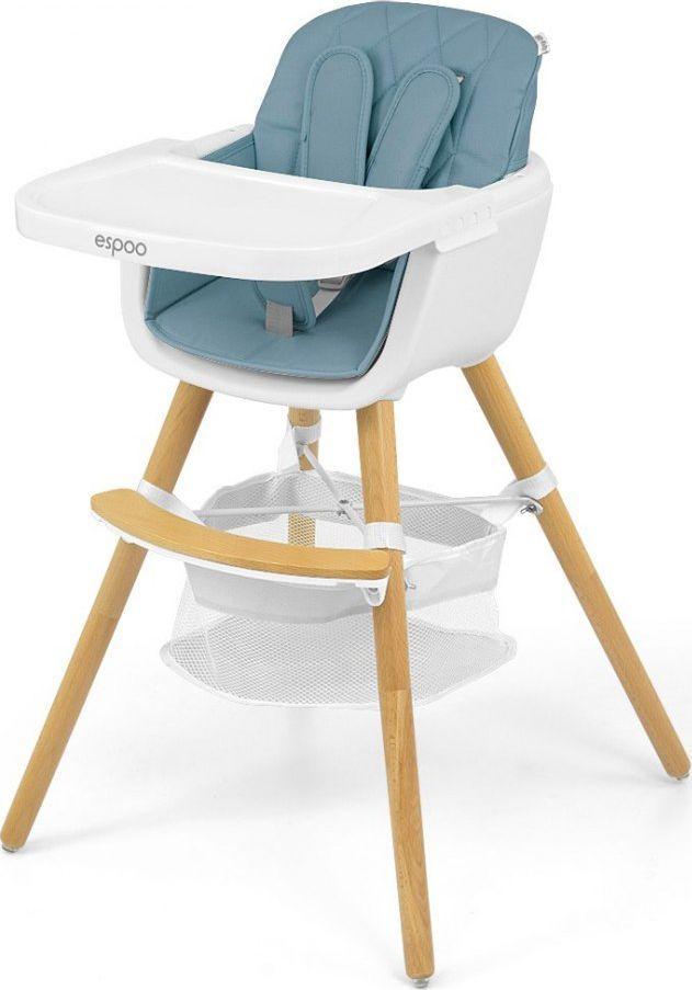 Milly Mally Krzesełko do karmienia 2w1 Espoo Blue 1