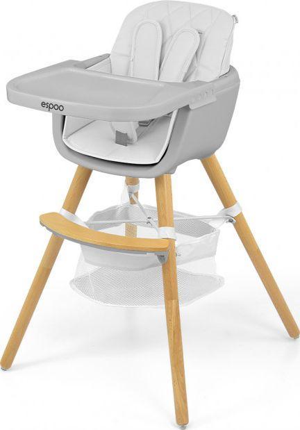 Milly Mally Krzesełko do karmienia 2w1 Espoo White 1