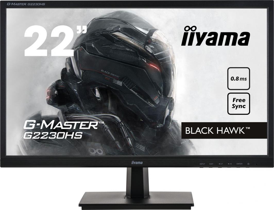 Monitor iiyama G-Master Black Hawk G2230HS-B1 1