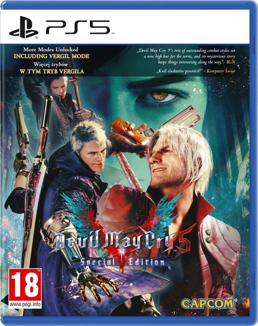 Devil May Cry 5 Special Edition PS5 1