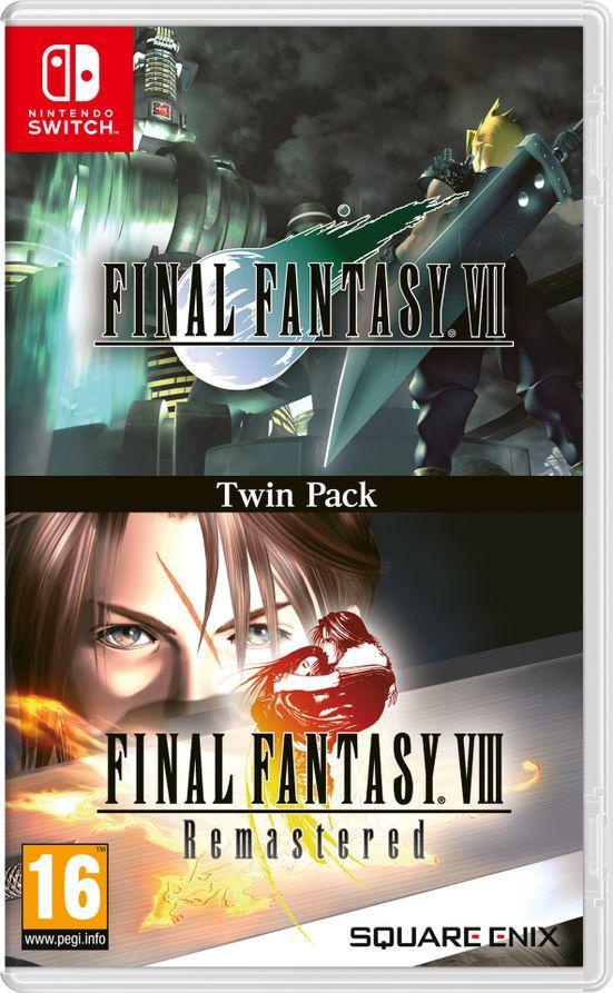 Final Fantasy VII + Final Fantasy VIII Remastered Nintendo Switch 1