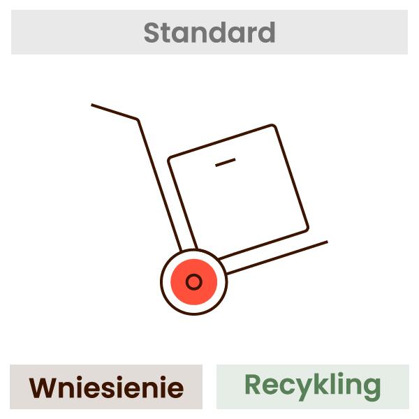 Wniesienie + recykling (jednego wybranego towaru) 1
