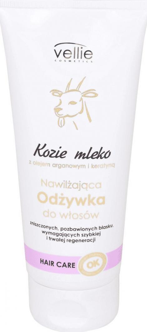 Vellie Japan Kozie mleko Nawilżająca odżywka do włosów 200ml 1