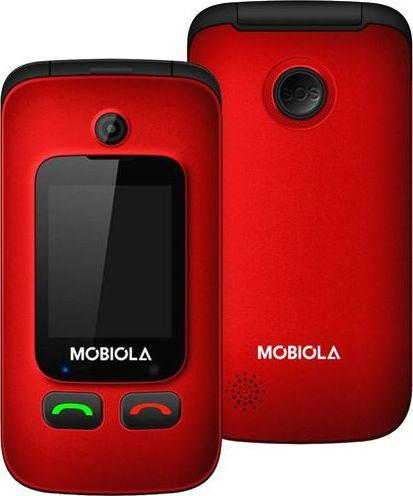 Telefon komórkowy Mobiola MB610 czerwony 1