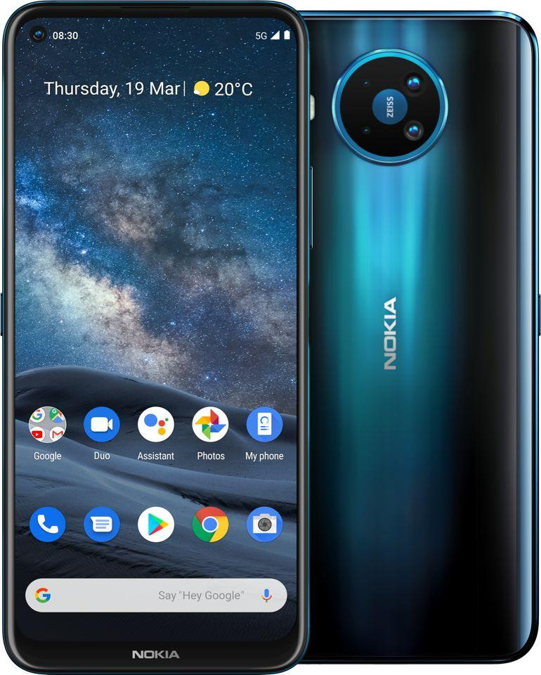 Smartfon Nokia 8.3 5G 6/64GB Dual SIM Niebieski  (64384090500070) 1