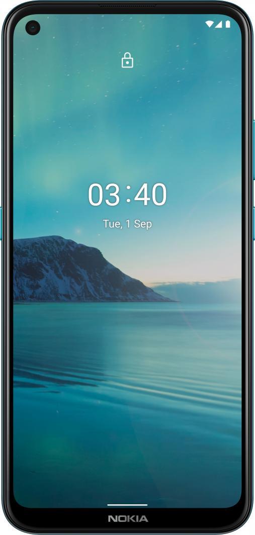 Smartfon Nokia 3.4 64 GB Dual SIM Niebieski  (TA-1283) 1