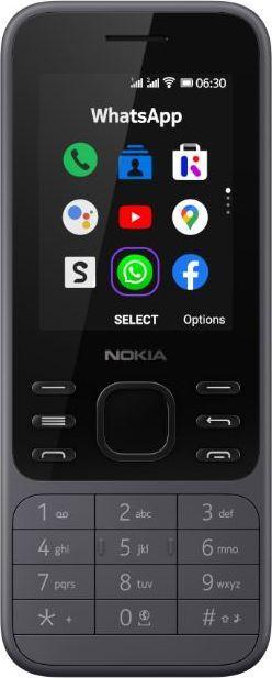 Telefon komórkowy Nokia 6300 4G Light Charcoal 1
