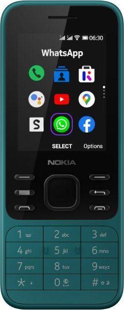 Telefon komórkowy Nokia 6300 4G Cyan 1