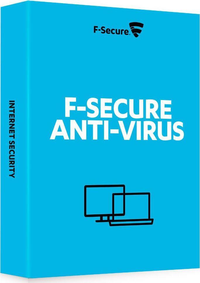F-Secure Anti-Virus (1 rok 1 PC) (FCACBR1N001E2) 1