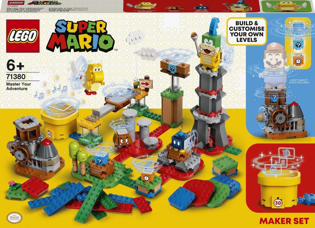 LEGO Super Mario Mistrzowskie przygody - zestaw twórcy (71380) 1