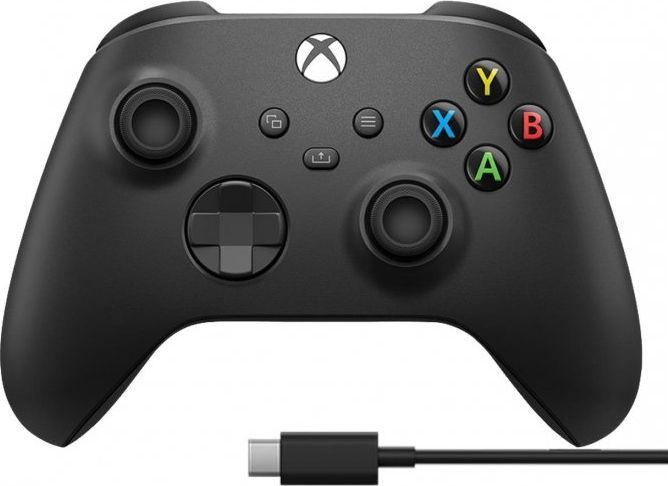 Gamepad Microsoft Xbox Series X/S + Kabel (1V8-00002) 1
