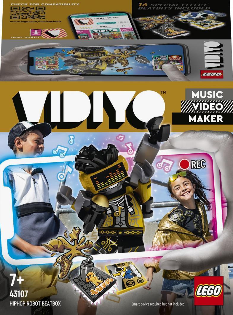 LEGO Vidiyo HipHop Robot BeatBox (43107) 1