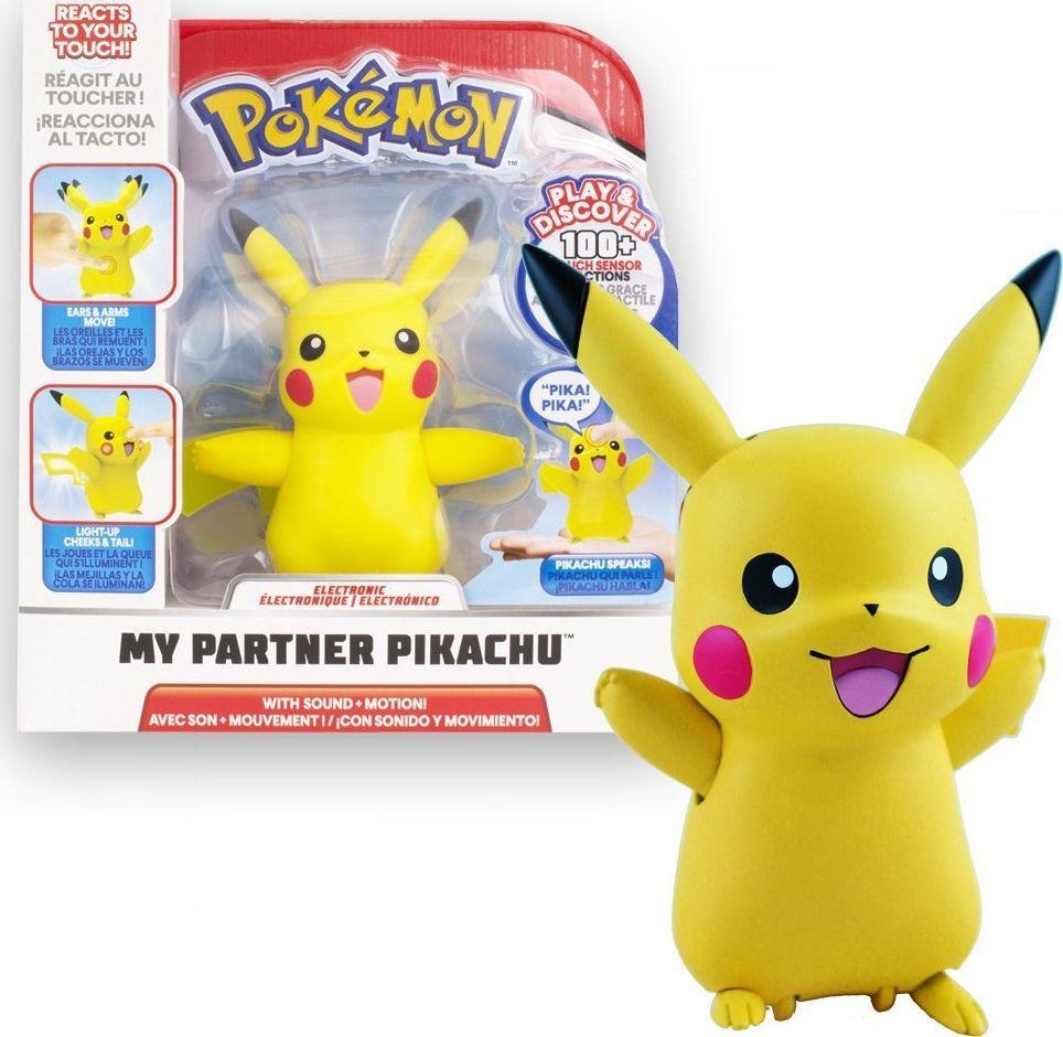 Jazwares Pokemon Mój partner Pikachu figurka interaktywna (97759) 1