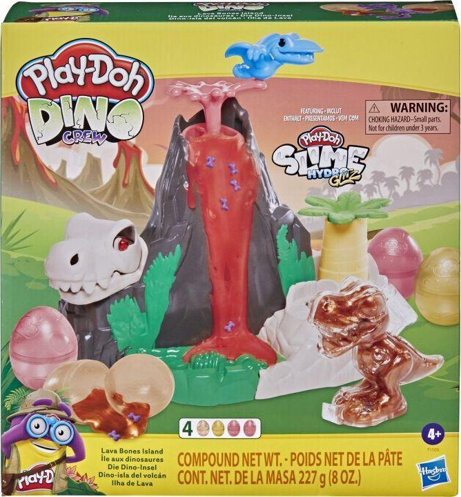 Play-Doh Wyspa dinozaurów z wulkanem (F1500) 1
