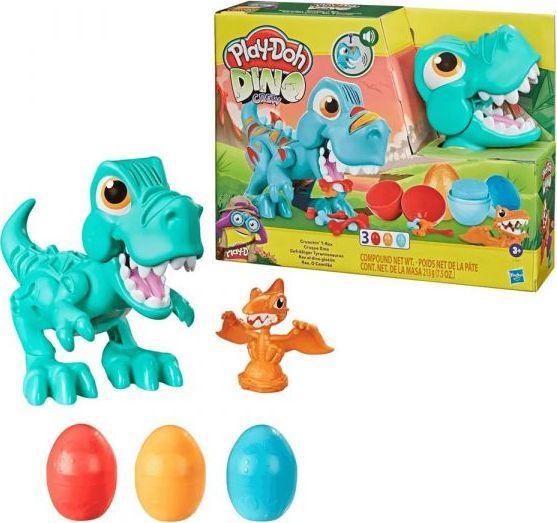 Play-Doh Ciastolina Przeżuwający Dinozaur (F1504)  1