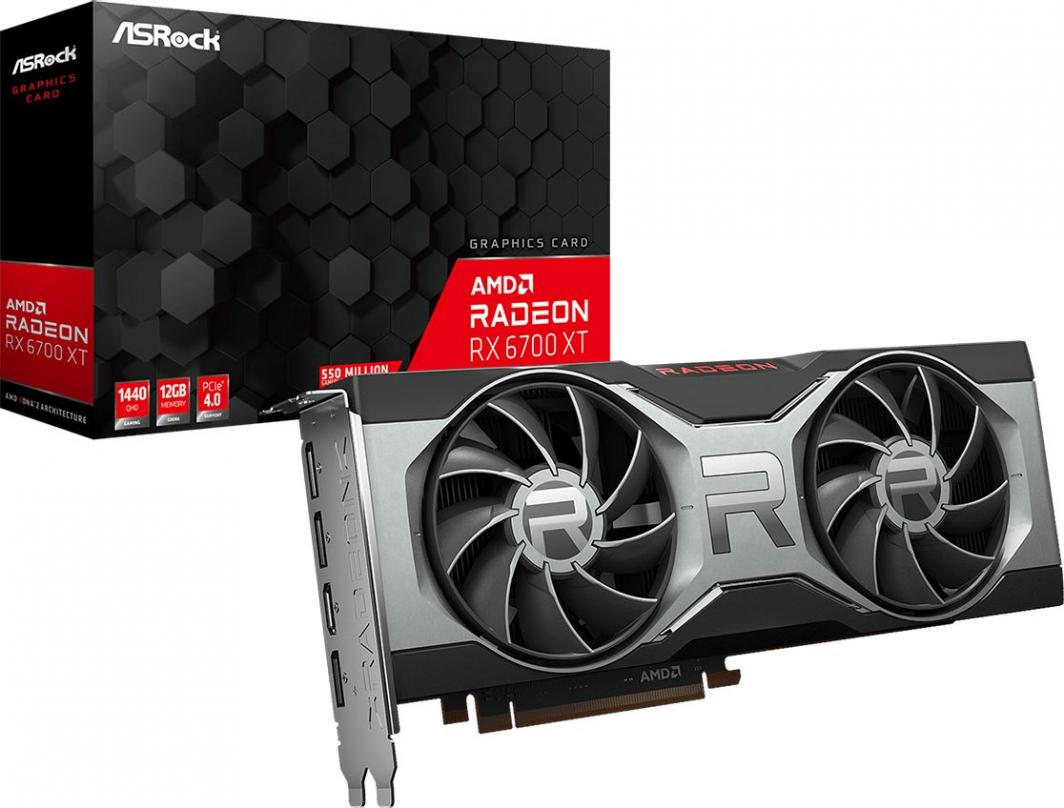 Karta graficzna ASRock Radeon RX 6700 XT 12GB GDDR6 (90-GA2WZZ-00UANF) 1