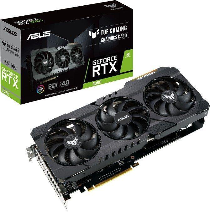 Karta graficzna Asus TUF GeForce RTX 3060 Gaming 12GB GDDR6 (TUF-RTX3060-12G-GAMING) 1