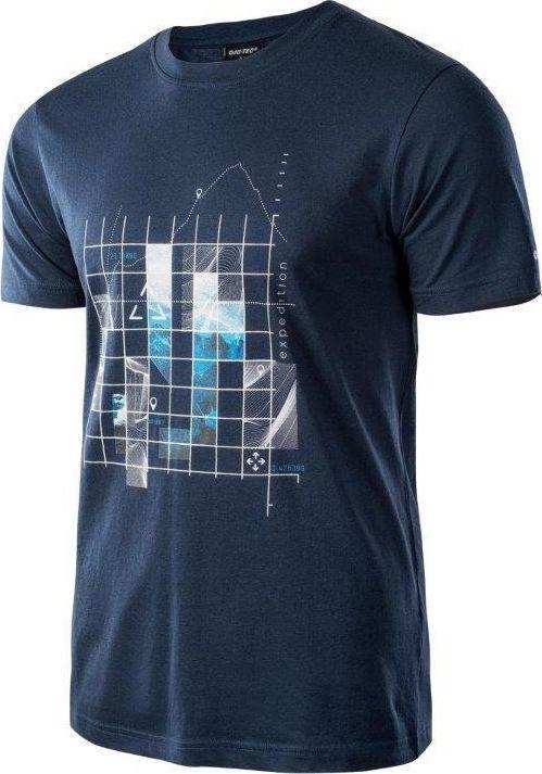 HI-TEC Koszulka męska RODEN Dress Blues r. XXL 1
