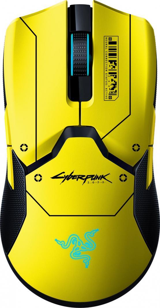 Mysz Razer Viper Ultimate Cyberpunk 2077 (RZ01-03050500-R3M1) 1