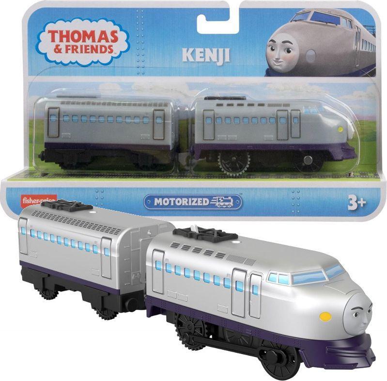 Mattel Tomek i Przyjaciele TM Pociąg z napędem Kenji (BMK88/GYW10) 1