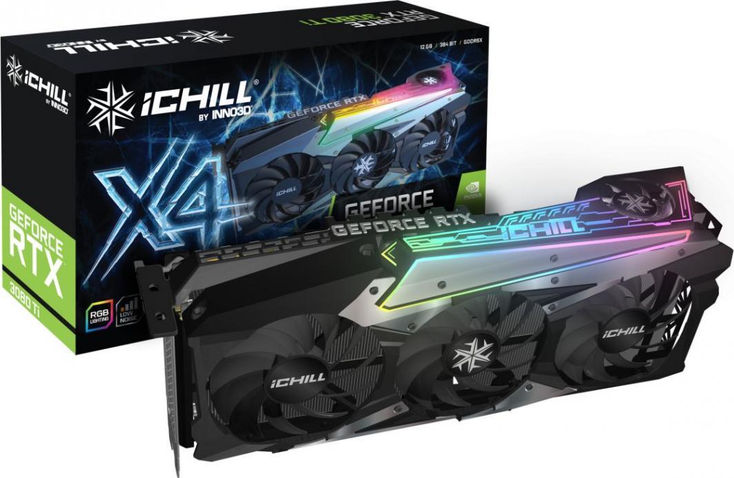 Karta graficzna Inno3D GeForce RTX 3080 Ti iChill X4 12GB GDDR6X (C308T4-126XX-1810VA36) 1