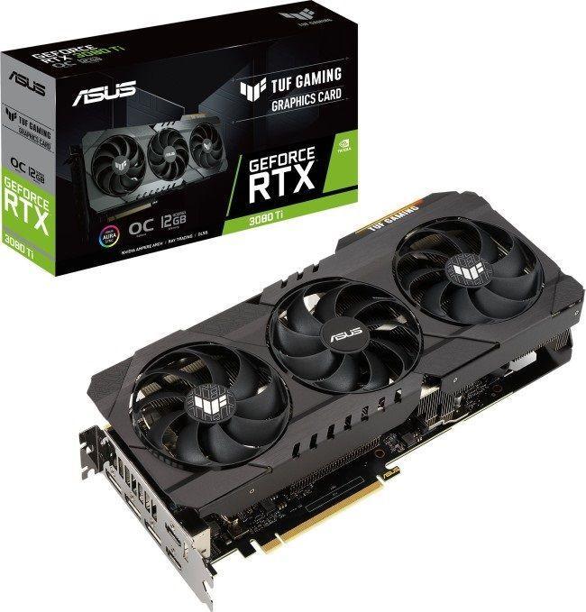 Karta graficzna Asus GeForce RTX 3080 Ti TUF Gaming OC 12GB GDDR6X (TUF-RTX3080TI-O12G-GAMING) 1