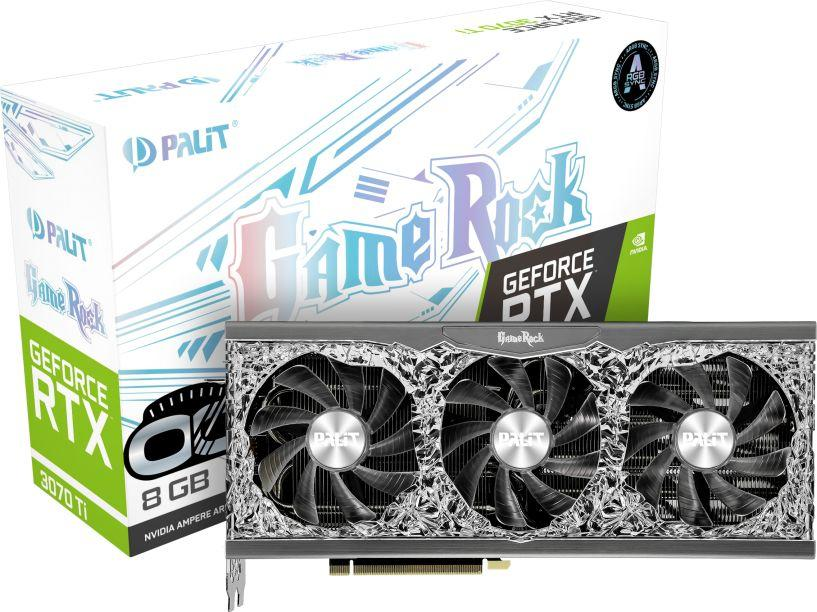Karta graficzna Palit GeForce RTX 3070 Ti GameRock OC 8GB GDDR6X (NED307TT19P2-1047G) 1