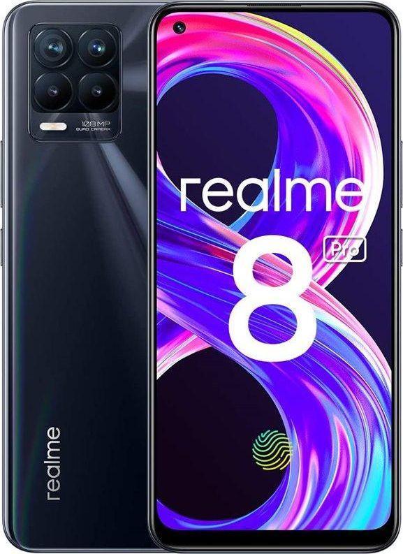 Smartfon realme 8 Pro 6/128 GB Dual SIM Czarny  (RMX3081) 1