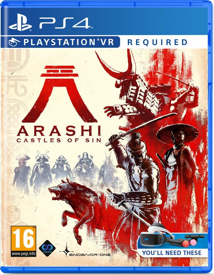 Arashi Castle of Sin PS4 1