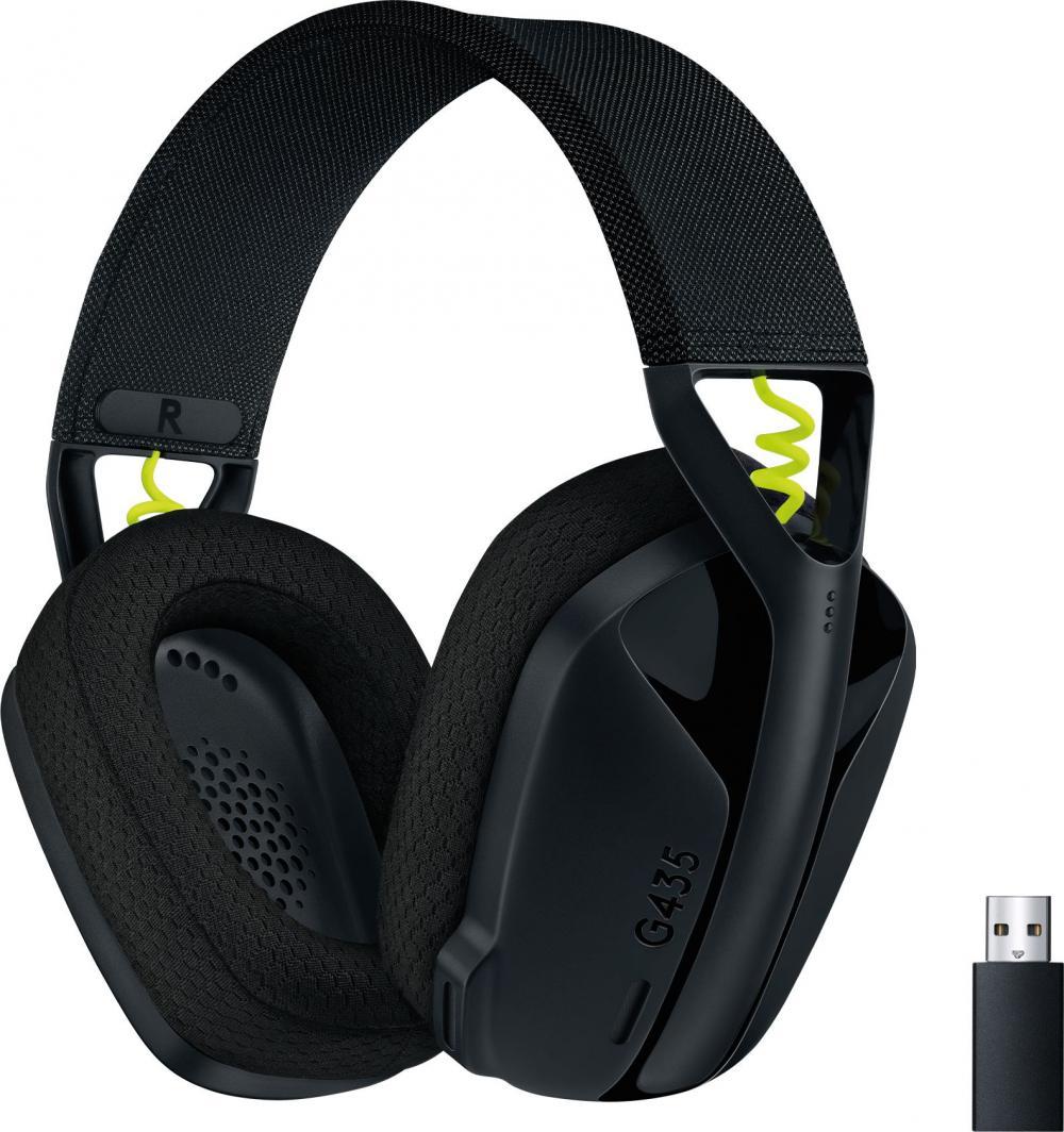 Słuchawki Logitech G435 Wireless black (981-001050) 1