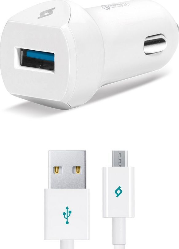 Ładowarka TTEC Ładowarka SpeedCharger QC 3.0 +kabel micro USB ID produktu: 5953920