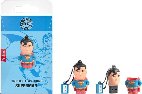 Pendrive Tribe Pendrive 16 GB Superman uniwersalny 1