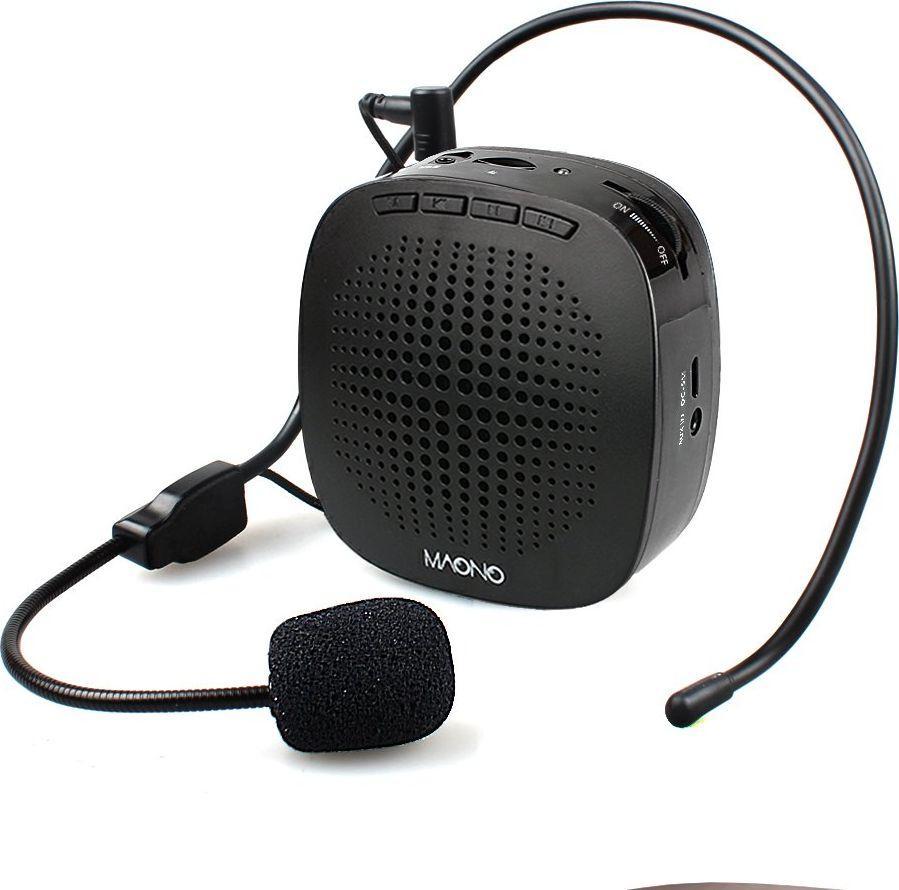 Mikrofon Maono Wzmacniacz głosu z mikrofonem AU-C03 1