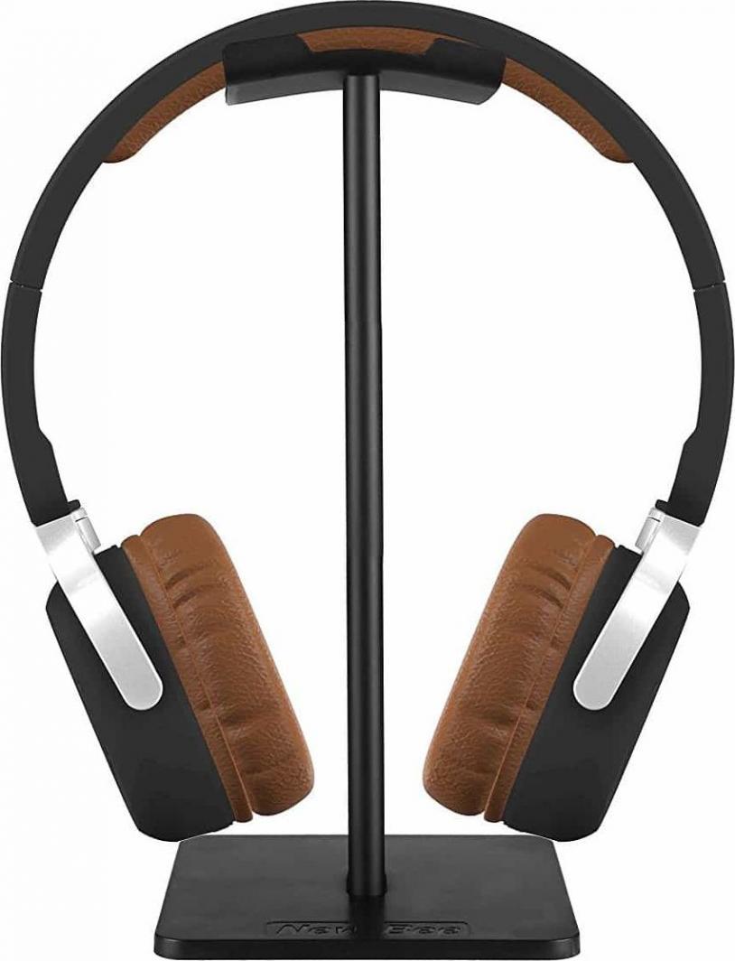 New Bee Stojak na słuchawki NEWBEE-BK czarny 1