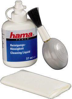 Hama Zestaw czyszczący Optic do kamer i aparatów (płyn + ściereczka + pompka) ( 59310000 ) 1